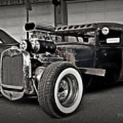 Rat Rod Scene 3 Art Print