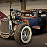 Rat Rod Scene Art Print