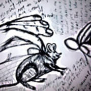 Rato De Fino Trato Art Print