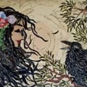 Raven Beauties Art Print