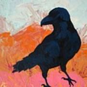 Raven I Art Print