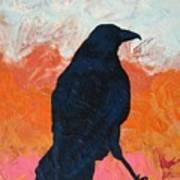 Raven II Art Print