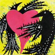 Raven Love Art Print
