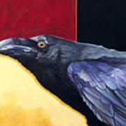 Raven Of The Tomorrow Wings Art Print