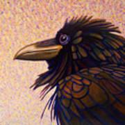 Raven Shaman Art Print