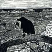 Raven Spirit Art Print