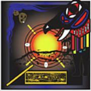 Raven Steals The Sun Art Print