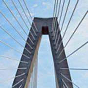 Ravenel Bridge Charleston Art Print