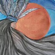 Raven's Hair Art Print