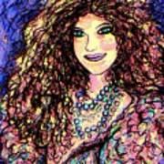 Ravishing Beauty Art Print