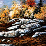 Raw North Art Print