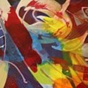 Raw Paint - 281 Art Print