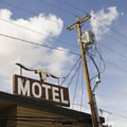 Rawhide Motel Art Print