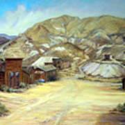 Rawhide Nevada Art Print by Evelyne Boynton Grierson