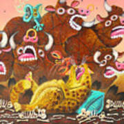 Rawhide O.d. Art Print