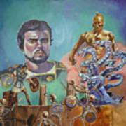 Ray Harryhausen Tribute Jason And The Argonauts Art Print