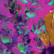 Razberry Ocean Of Butterflies Art Print