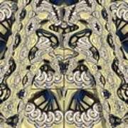 Rca Lyra Pattern Art Print