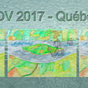 Rdv 2017 Quebec Mug Shot Art Print