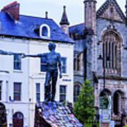 Reach Out - Belfast Ireland Art Print