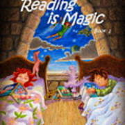 Reading Is Magic Art Print