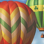 Readington Balloon Festival #2 2015 Art Print