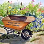 Ready At The Main Garden Art Print