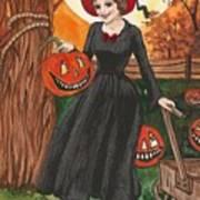 Ready For Halloween Art Print