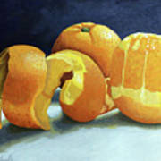 Ready For Oranges Art Print