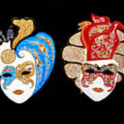 Ready For The Venice Carnival Art Print