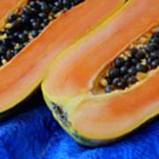 Ready Papaya Art Print
