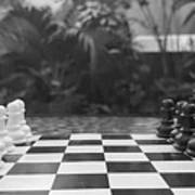 Ready Set Chess Art Print