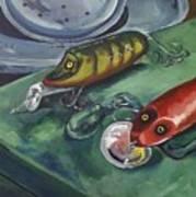 Ready To Fish Art Print