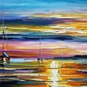 Real Sunset Art Print