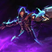 Reaper Overwatch Art Print