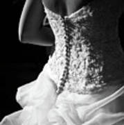 Rear View Of Bride Print by John B. Mueller Photography