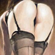 Rear View V Art Print