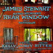 Rear Window, Grace Kelly, James Print by Everett