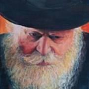 Rebbe Art Print