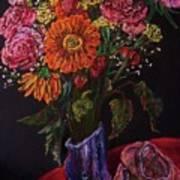 Recital Bouquet Art Print by Emily Michaud