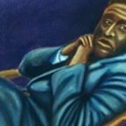 Reclining Man Art Print