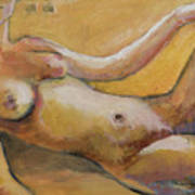 Reclining Nude 1 Art Print