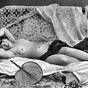 Reclining Nude, C1890 Art Print