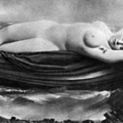 Reclining Nude, C1895 Art Print