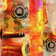 Reconstruction Abstract Art Print