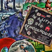 Records For Children Art Print