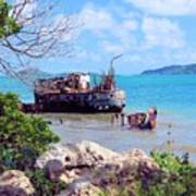 Recycled In Grenada Art Print