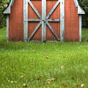 Red Barn Art Print by Dustin K Ryan