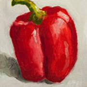 Red Bell Pepper Art Print