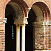 Red Brick Arches Regular Art Print